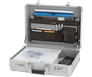 """Aluminum silber Attache Alu Koffer Aktenkoffer ALUMAXX Attaché-koffer /""""MINOR/"""""""