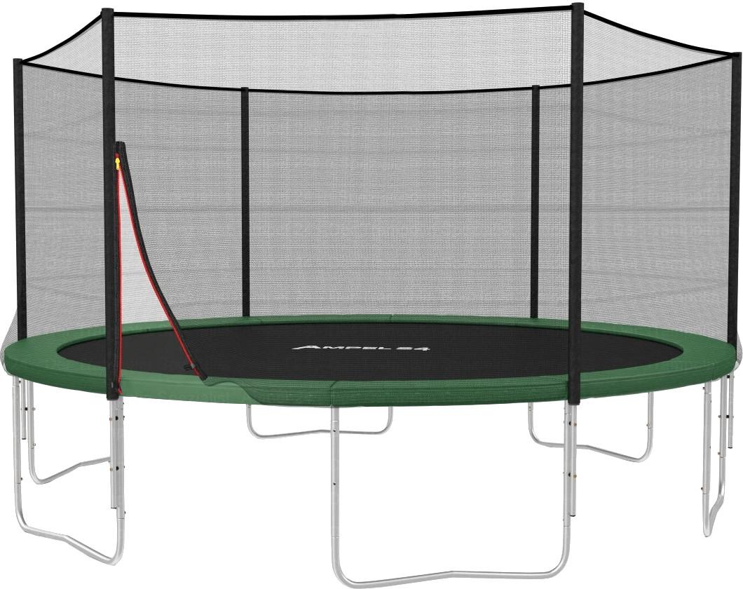ampel 24 klassik trampolin 430 cm mit netz sport fitness krafttraining. Black Bedroom Furniture Sets. Home Design Ideas
