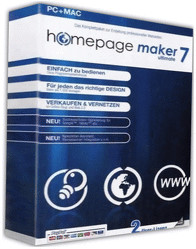 bhv Homepage Maker 7 Ultimate (DE) (Win)