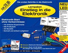 Franzis Lernpaket Einstieg in die Elektronik (DE) (Win)