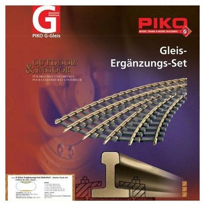 Piko G-Gleis Ergänzungs-Set Bahnhof (35300)