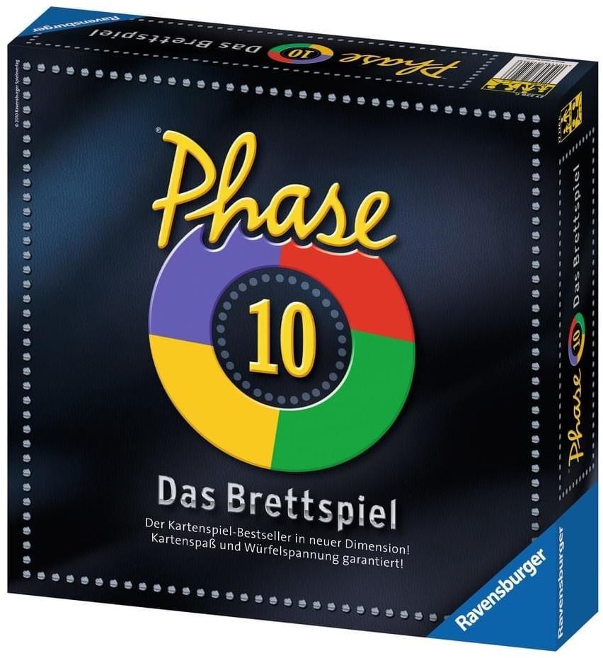 Ravensburger Phase 10 - Das Brettspiel (27226)