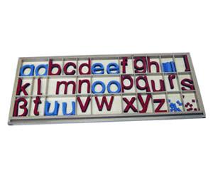 Bewegliches Alphabet groß