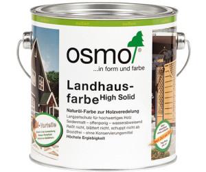 Osmo Landhausfarbe 0,75 l kieselgrau