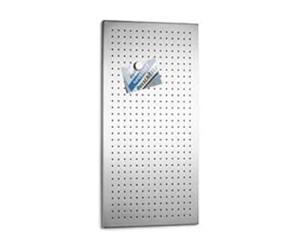 Blomus Magnettafel Muro magnetische Tafel 80x40 cm Edelstahl matt gelocht 66760