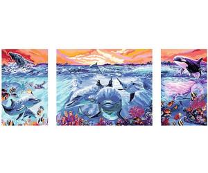 Ravensburger Malen Nach Zahlen Premium Farbenfrohe Unterwasserwelt