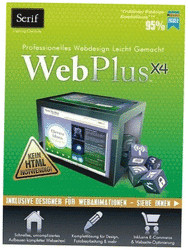 Serif WebPlus X4 Website Maker (DE) (Win)