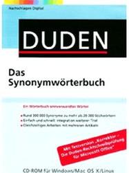 Duden Das Synonymwörterbuch (DE) (Win/Mac/Linux)