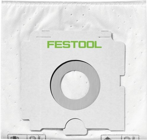 Image of Festool 496187 Self Cleaning Filter Bags Pack of 5