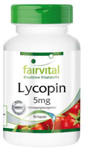 Fairvital Lycopin 5 Mg Kapseln 90 ST