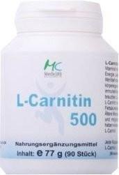 Medicura L-Carnitin 500 Kapseln (90 Stk.)