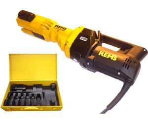 REMS Pressmaschine Power Press E Nr 572100 für Pressbacke Sanitär Vorgänger SE