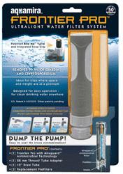 Aquamira Frontier Pro Ultralight Water Filter S...