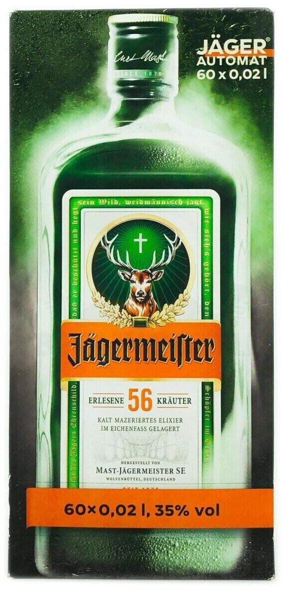 Jägermeister 60 x 0,02l 35%