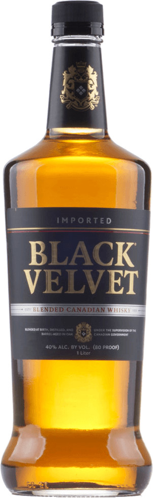 Black Velvet Whisky 1l 40%