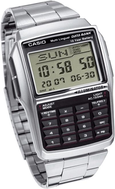Casio Collection Taschenrechneruhr (DBC-32D-1AES)