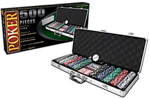 Maxstore Pokerkoffer 500 Chips
