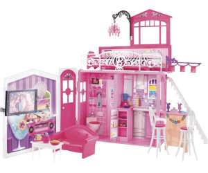 barbie glam haus r4186 ab 210 73 preisvergleich bei. Black Bedroom Furniture Sets. Home Design Ideas