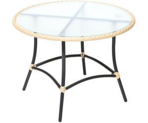Ravenna Tisch, rund, Ø 100 cm, Schoko | Merxx