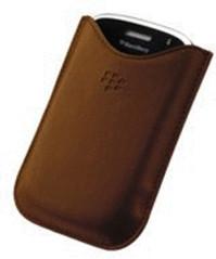 Image of BlackBerry Custodia in pelle (BlackBerry 9000)