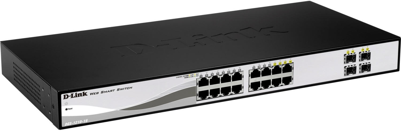 Image of D-Link 16-Port Layer2 Smart Managed Gigabit Switch (DGS-1210-16)