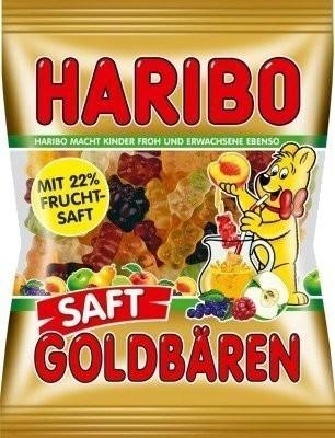 Haribo Saft-Goldbären (85 g)
