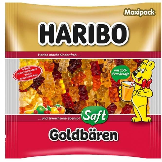 Haribo Saft-Goldbären (450 g)