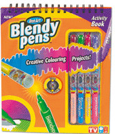 Flair Blendy Pens Activity Book