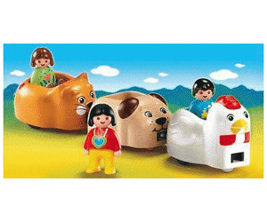Playmobil 1.2.3 Animal Train (6767)