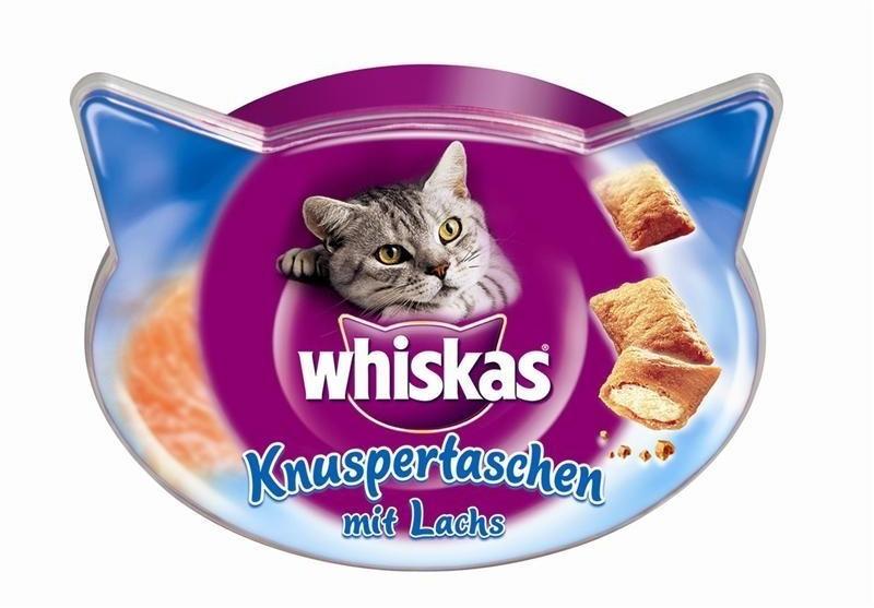 Whiskas Knusper-Taschen Lachs (60 g)