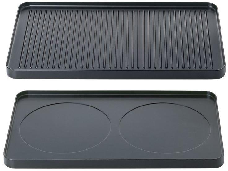 Spring Alu-Grillplatte für Raclette 8 Inox Alu