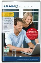 Buhl KlickTel Telefon- und Branchenbuch inkl. R...