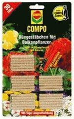 Compo Düngestäbchen für Balkonpflanzen mit Guano