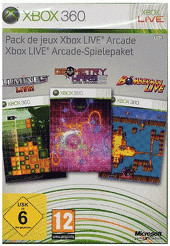 Xbox Live Arcade Spielepaket (Xbox 360)