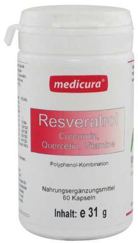 Medicura Resveratrol Kapseln (60 Stk)