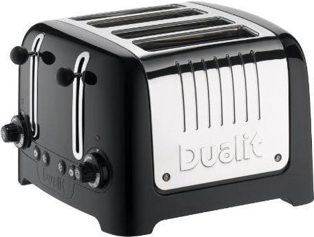 Image of Dualit 4 Slot Lite Toaster Gloss Black