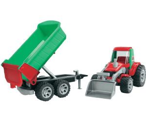 Bruder roadmax traktor mit frontlader und kippanhänger ab