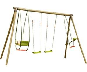soulet portique en bois safran h 2 35 m au meilleur prix sur. Black Bedroom Furniture Sets. Home Design Ideas
