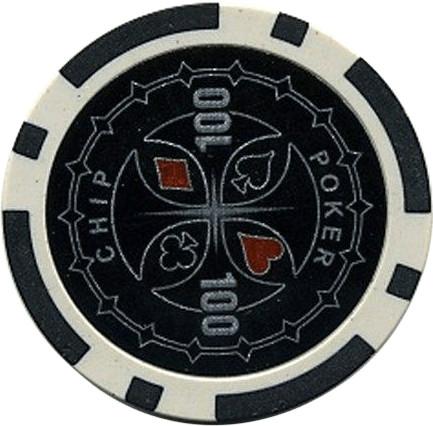 Dilego 50 Poker Chips Wert 100 - 11 g