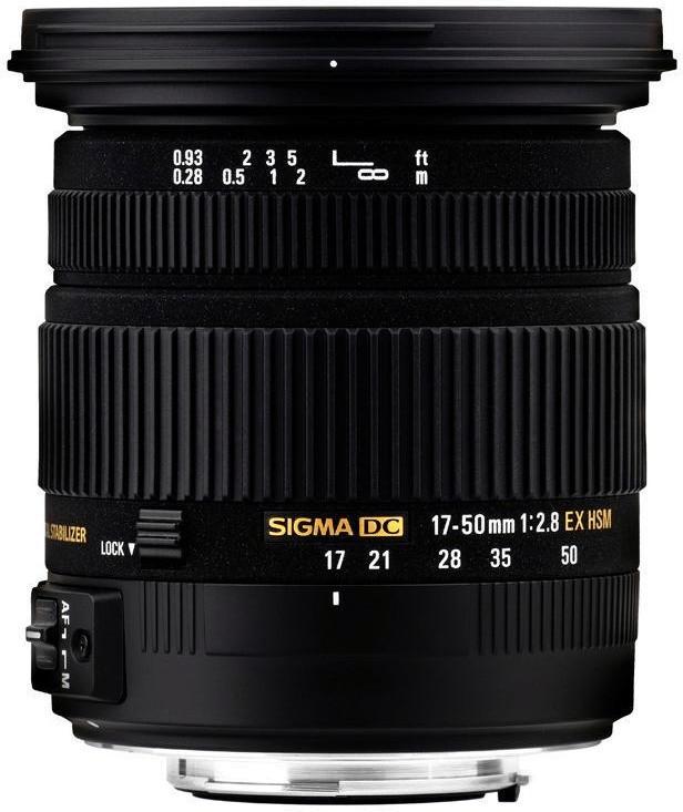 Sigma 17-50mm f2.8 EX DC OS HSM [Sony A]