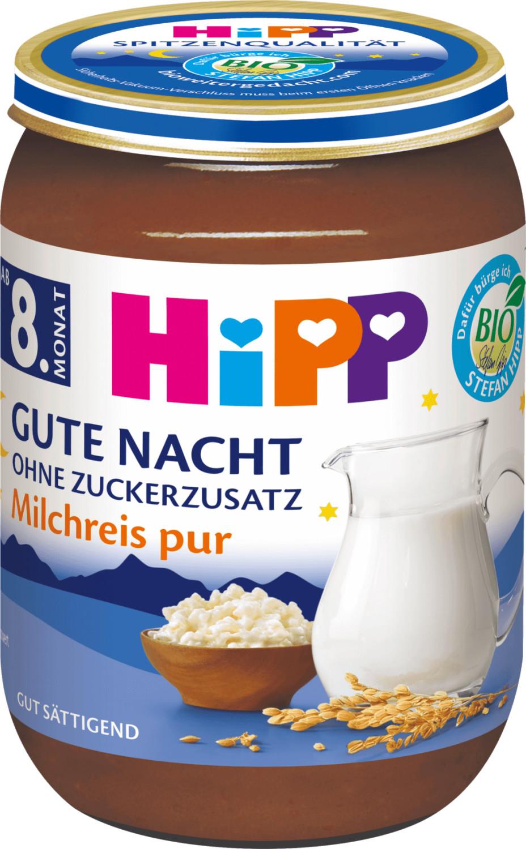 Hipp Milchreis Pur Gute Nacht (190 g)