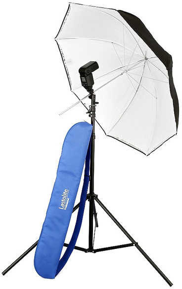 "Image of Lastolite All-in-One Umbrella Kit 1m (40"")"