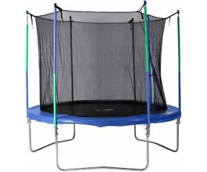 l a sports jumbo trampolin mit sicherheitsnetz 305 cm ab 211 54 preisvergleich bei. Black Bedroom Furniture Sets. Home Design Ideas