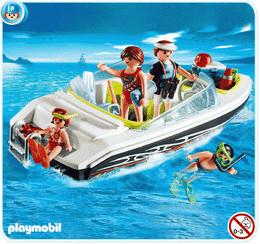Playmobil Schnittiges Sportboot (4862)