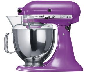 Kitchenaid robot da cucina artisan viola 5ksm150psbgp a for Kitchenaid artisan prezzo