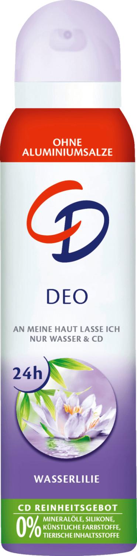 CD Wasserlilie Deo Spray (150 ml)