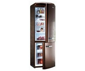 Gorenje Kühlschrank Retro Schwarz : Gorenje rk retro kühl gefrierkombination kühlschrank eek a