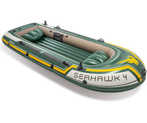 bateau de peche gonflable seahawk 4 intex