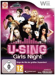U-Sing: Girls Night + 2 Mikrofone (Wii)