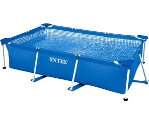 buy intex rectangular metal frame pool 7 x 5 x 24 28270 from 4849 compare prices on idealocouk